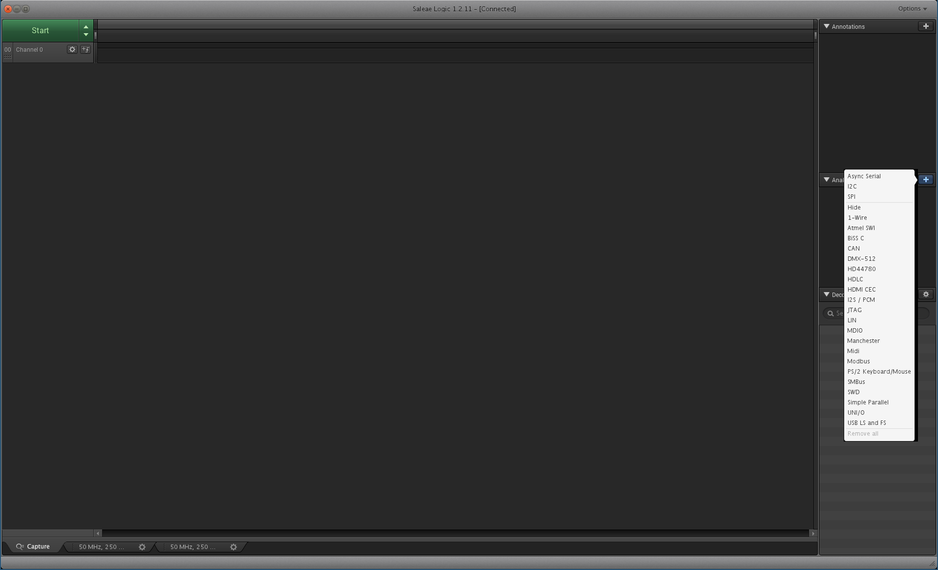 Using the Saleae Logic Pro 8 to debug a CAN bus   seL4 docs